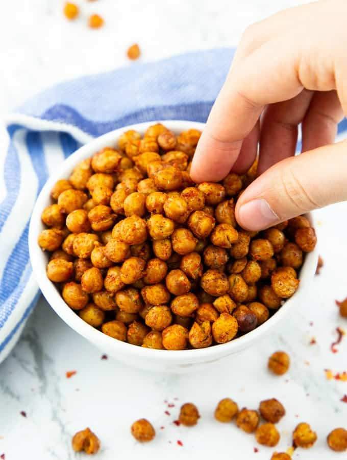 chickpea snack