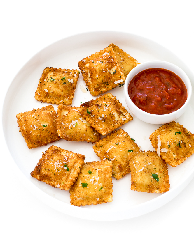 Toasted Ravioli (Deep Fried or Air fryer Instructions!) - Chef Savvy