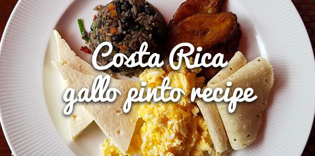 Easy and Authentic Costa Rican Gallo Pinto Recipe