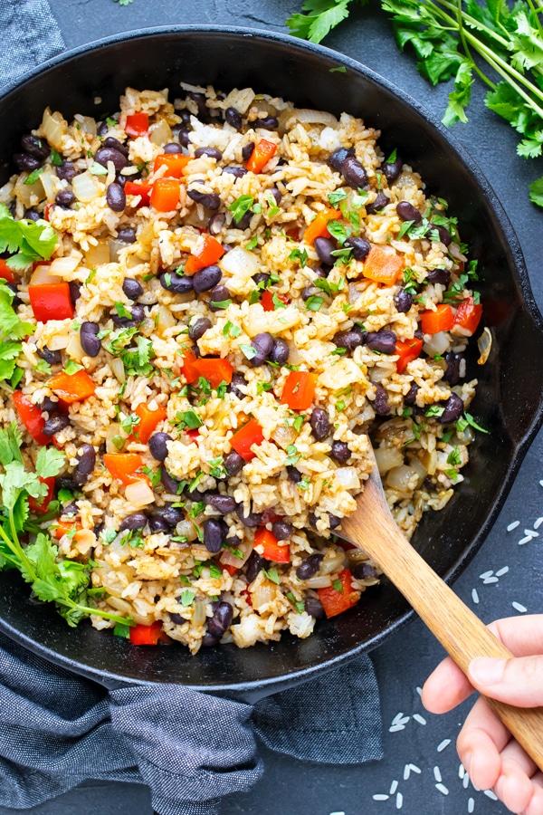 Gallo Pinto | Costa Rican Rice & Beans Recipe | Costa Rican Rice & Beans - Evolving Table