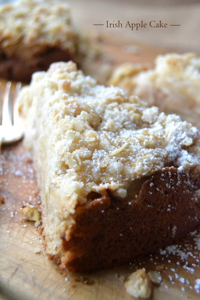 Authentic Irish Apple Cake | The View from Great Island