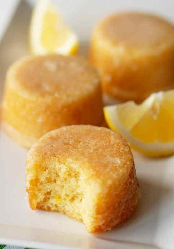 Mini Lemon Drop Cakes Recipe