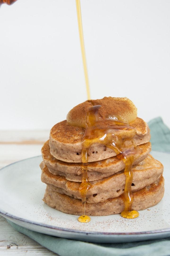 Vegan Applesauce Pancakes Recipe