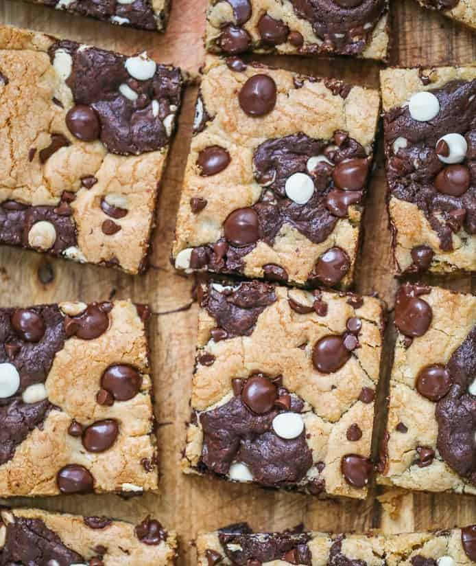 Brookie Bars | The Baking ChocolaTess